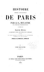 Histoire physique, civile et morale de Paris: Volume2