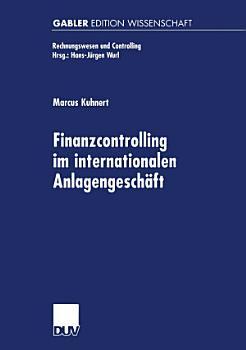 Finanzcontrolling im internationalen Anlagengesch  ft PDF