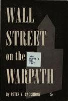 Wall Street on the Warpath PDF