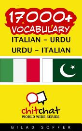 17000+ Italian - Urdu Urdu - Italian Vocabulary