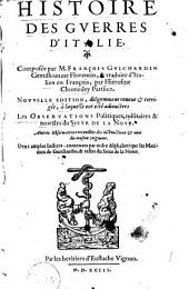 Histoire des guerres d'Italie: Volume 1