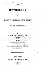 The mythology of ancient Greece and Italy: for the use of schools