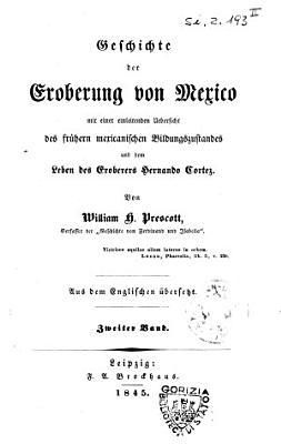 Geschichte der Eroberung von Mexico PDF