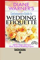 Diane Warner s Contemporary Guide to Wedding Etiquette PDF