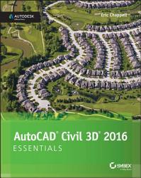 AutoCAD Civil 3D 2016 Essentials PDF