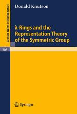 Lambda-Rings and the Representation Theory of the Symmetric Group
