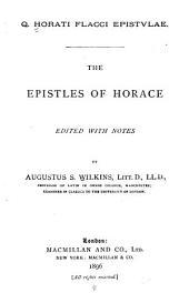 Q. Horatii Flacci Epistvlae