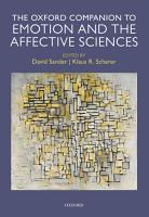 Oxford Companion to Emotion and the Affective Sciences PDF