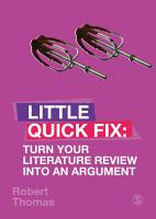 Turn Your Literature Review Into An Argument PDF