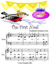 The First Noel - Beginner Tots Piano Sheet Music
