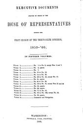 House Documents: Volume 113; Volume 126
