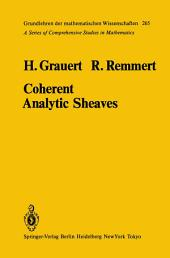 Coherent Analytic Sheaves