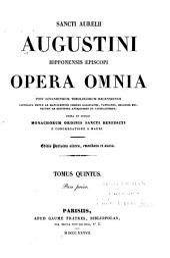 Opera omnia: Volume 5, Part 1