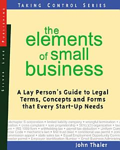 The Elements of Small Business PDF