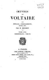 Oeuvres de Voltaire: Volume57