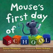 Mouse's First Day of School: with audio recording