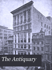 The Antiquary: Volume 37