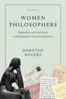 Women Philosophers Volume I PDF
