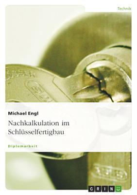 Nachkalkulation im Schl  sselfertigbau PDF