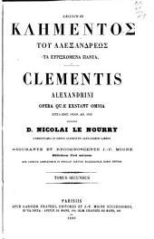 Patrologiae cursus completus ...: Series graeca, Volume 9