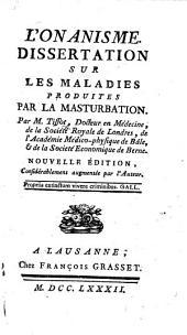 L'Onanisme ... Cinquième édition, etc