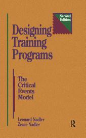 Designing Training Programs: Edition 2