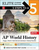 5 Steps to a 5  AP World History 2019 Elite Student Edition PDF
