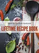 Blank Recipe Book Hardcover