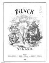 Punch: Volume 62