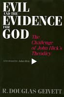 Evil and the Evidence for God PDF