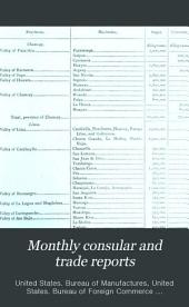Monthly Consular and Trade Reports: Volume 51, Issues 188-191