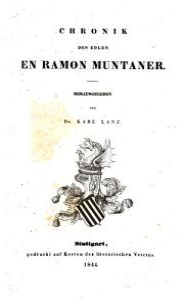 Chronik des edlen en Ramon Muntaner PDF