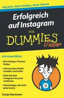 Erfolgreich auf Instagram f  r Dummies Junior PDF