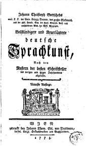 Vollständigere und neuerläuterte deutsche Sprachkunst