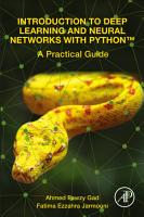 Introduction to Deep Learning and Neural Networks with PythonT PDF