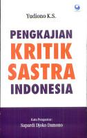 Pengkajian kritik sastra Indonesia PDF