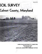 Soil Survey, Calvert County, Maryland