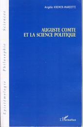 Auguste Comte et la science politique