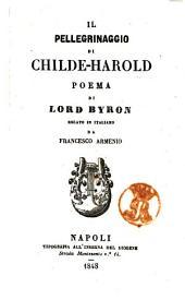 Il pellegrinaggio di Childe-Harold poema di Lord Byron