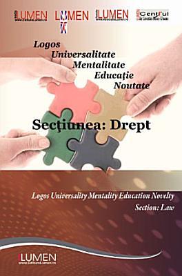 Conferinta internationala Lumen  2011  vol  2  sectiunea Drept PDF