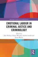 Emotional Labour in Criminal Justice and Criminology PDF