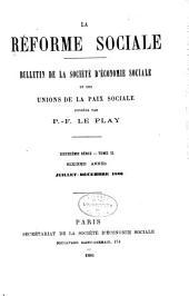 Revue d'ëconomie sociale et rurale: Volume12