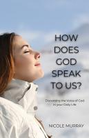 How Does God Speak to Us  PDF