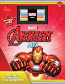 Marvel s Avengers Chalkboard ABC Book