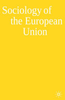 Sociology of the European Union PDF