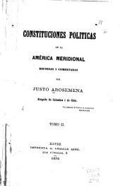 Constituciones políticas de la América meridional: Volumen 2