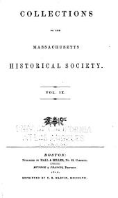 Collections of the Massachusetts Historical Society ...