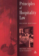 Principles of Hospitality Law PDF