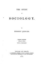 The Study of Sociology PDF