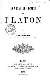 La vie et les écrits de Platon